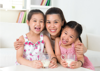 Formula milk for child's growth and development