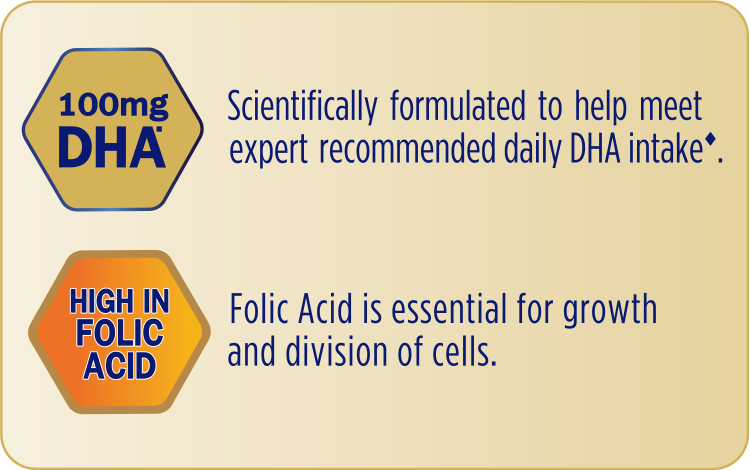Enfamama A+ with 100mg DHA and high in Folic Acid