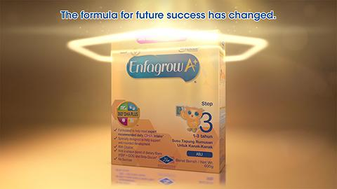 Introducing NEW Enfagrow A+ with MFGM Complex & 40% higher DHA▪