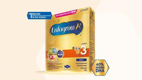 Enfagrow A+ Langkah 3