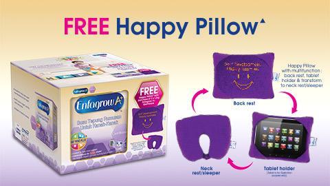 Enfagrow A+ Gentlease FREE Happy Pillow▲