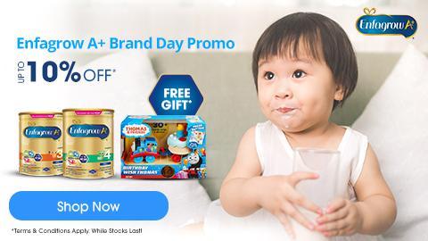 Enfagrow A+ Brand Day Promo
