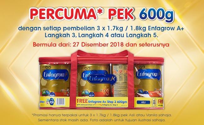 Enfagrow A+ PERCUMA* PEK 600g