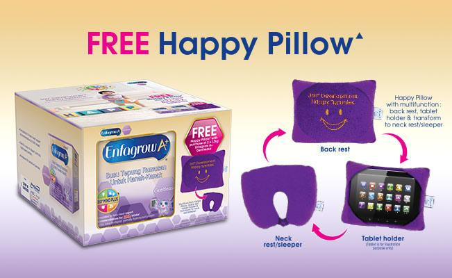 Enfagrow A+ Gentlease FREE Happy Pillow▲
