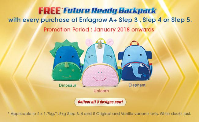 Future Ready Backpack Promotion