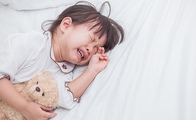 Mengapa Kanak-kanak Menangis Pada Waktu Malam